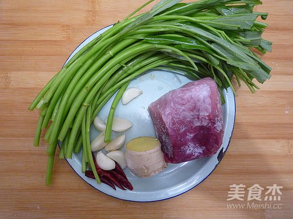 空心菜炒肉丝的做法大全