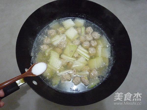 冬瓜丸子汤怎样做
