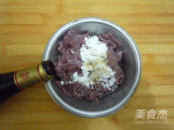 鱼香猪肝的简单做法