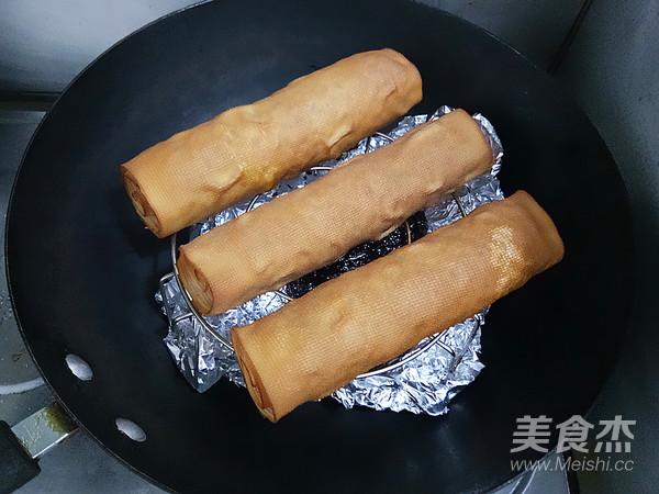 熏豆皮卷煎怎样炒