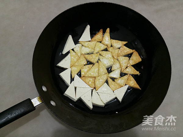 酸豆角烧豆腐的家常做法