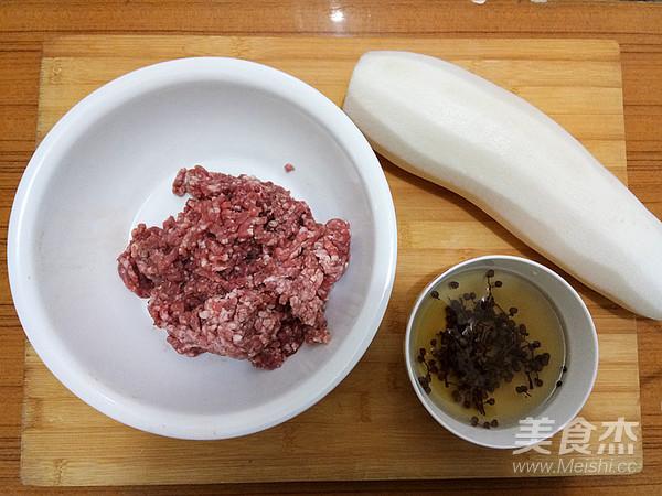 牛肉白萝卜蒸饺的家常做法
