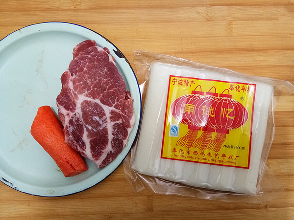 黑椒肉粒炒年糕的做法大全