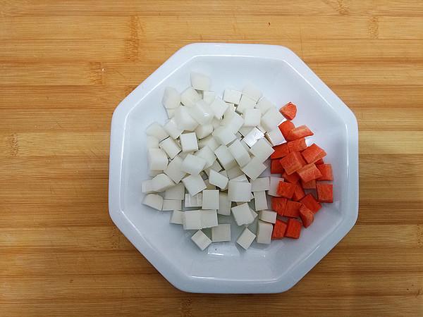 黑椒肉粒炒年糕怎么吃