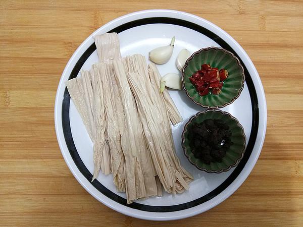 豆豉蒸腐竹的做法大全