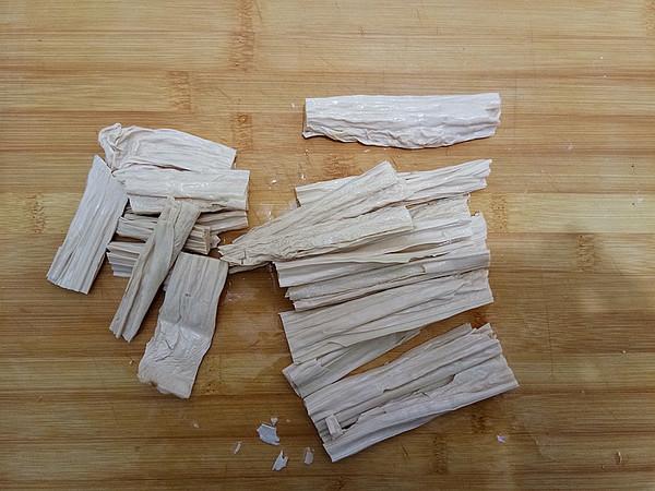 豆豉蒸腐竹的做法图解