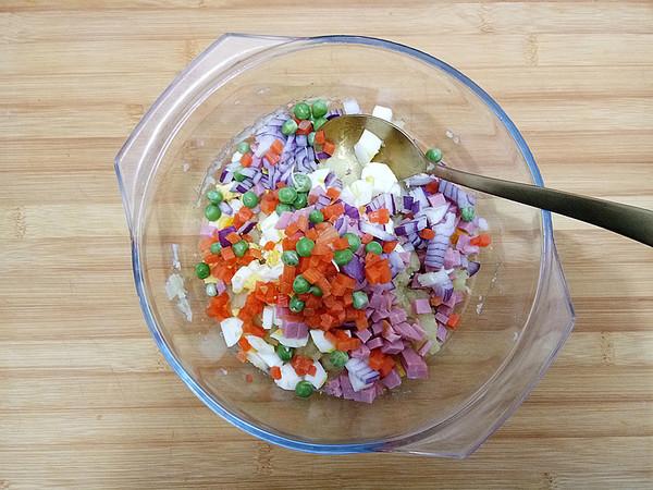 土豆沙拉的步骤