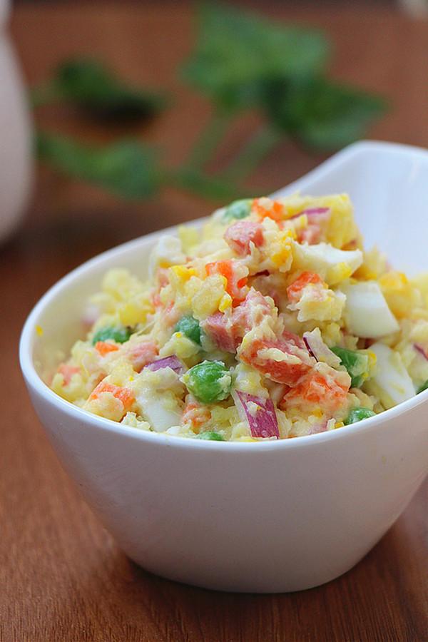 土豆沙拉成品图
