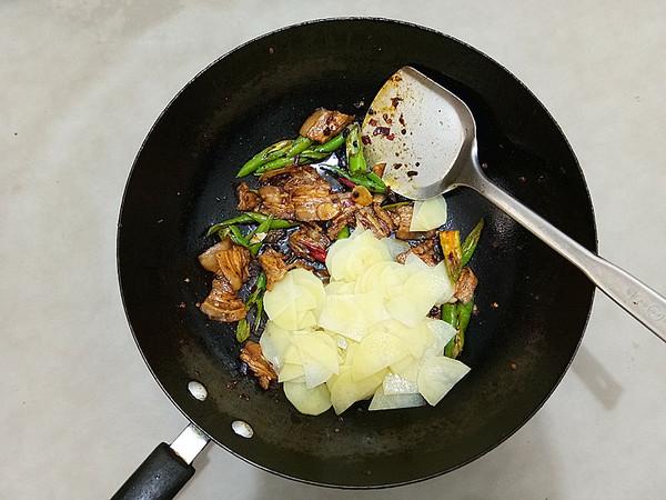 五花肉炒土豆片怎么煮