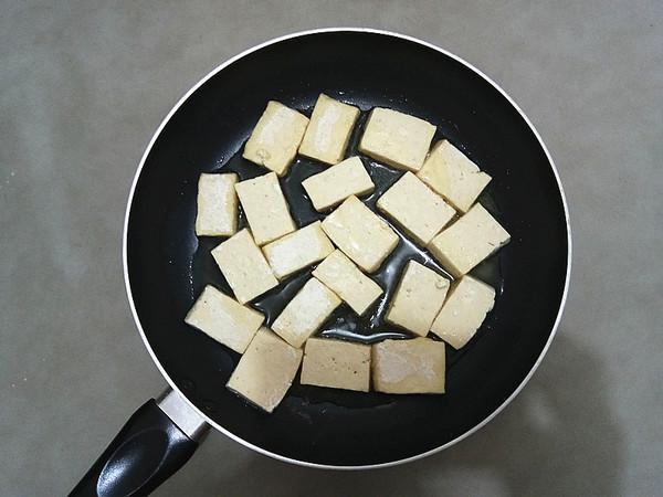 金针菇烧豆腐的简单做法