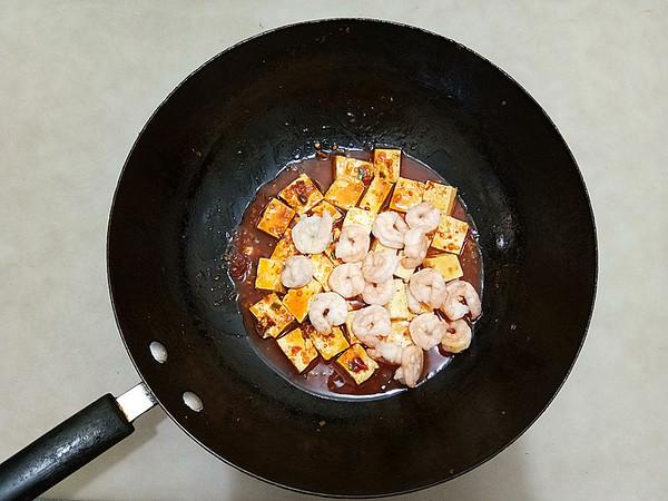 虾仁烧豆腐怎样煸