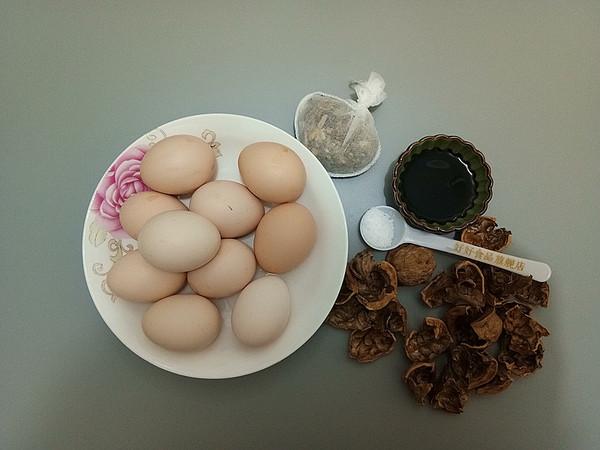 核桃壳煮鸡蛋的做法大全