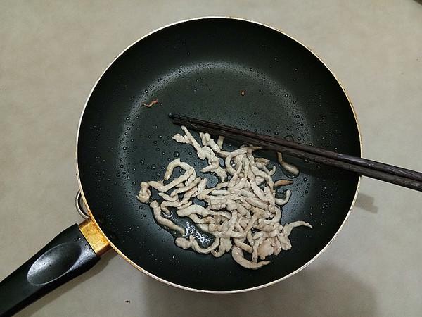 肉丝青菜干拌面#中卓炸酱面#怎么吃