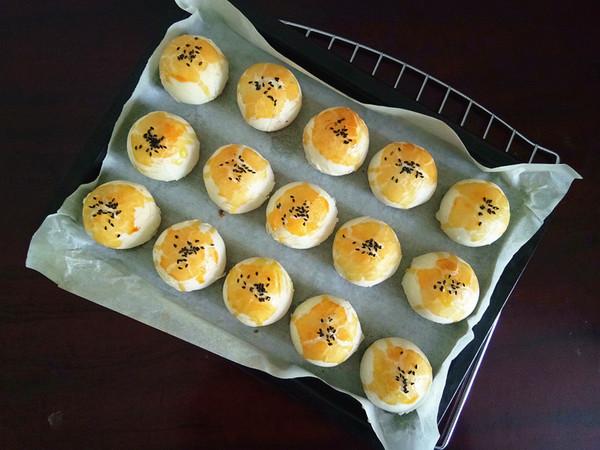 蛋黄酥的做法大全