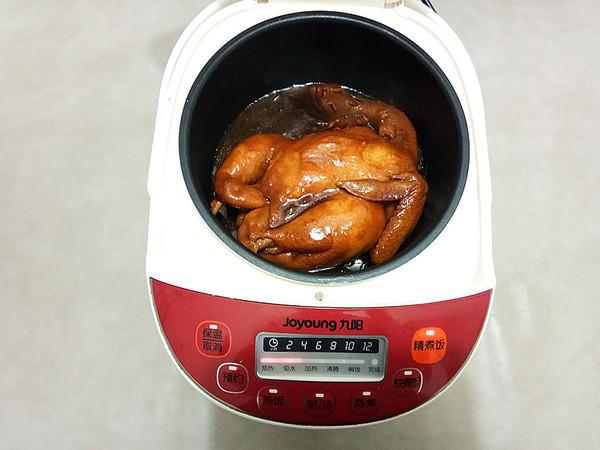 电饭煲焗鸡怎么炖