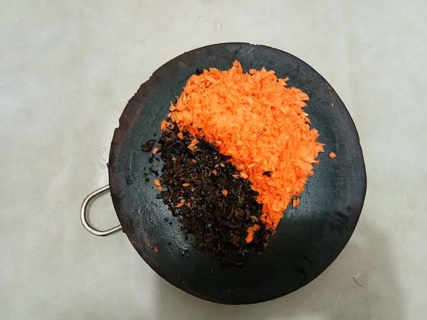 胡萝卜木耳鲜肉锅贴怎么吃