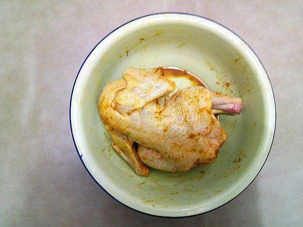 盐焗鸡的简单做法