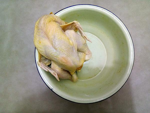 盐焗鸡怎么吃
