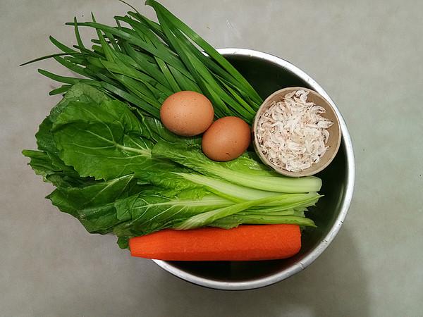 小白菜菜团子的简单做法