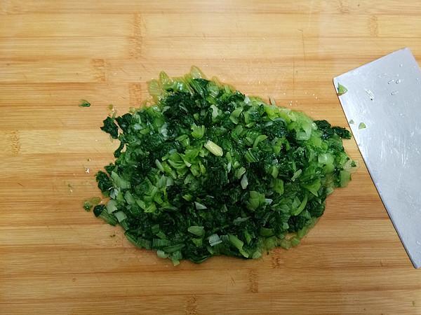 小白菜菜团子怎么做