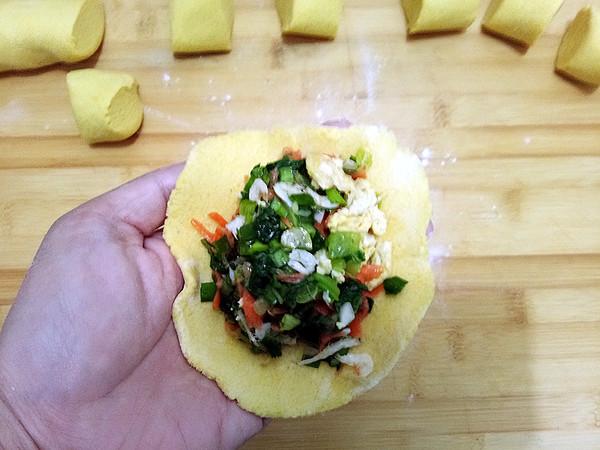 小白菜菜团子怎样做