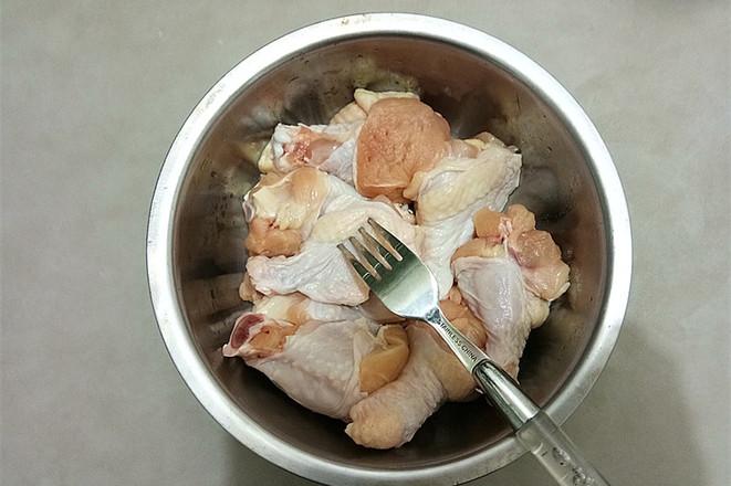 香辣炸鸡翅的做法图解