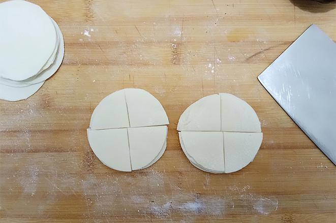 饺子皮椒盐酥的做法图解