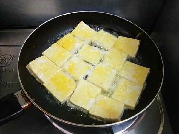 浇汁煎焖豆腐怎么炒