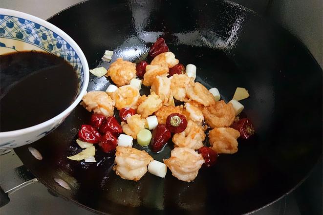 宫保虾球怎样煮