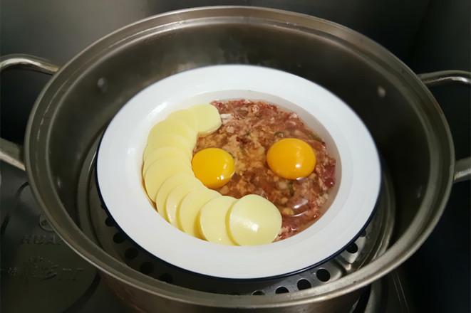 肉末豆腐蒸鸡蛋怎么做