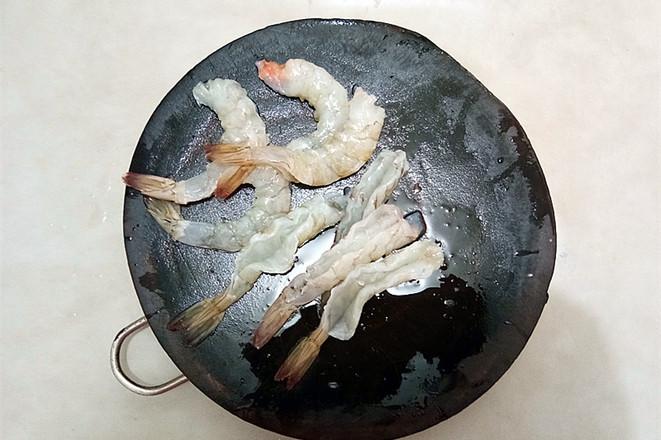 鱼香虾球茄子的做法图解
