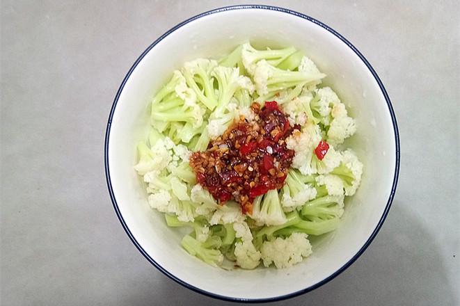凉拌菜花怎么做