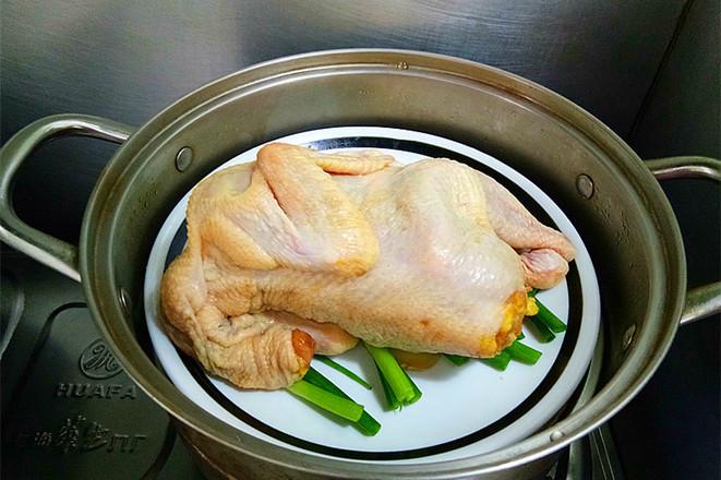 清蒸椒麻鸡怎么煮