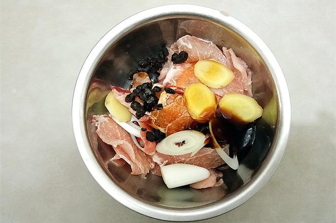 金针菇蒸肉片的做法图解