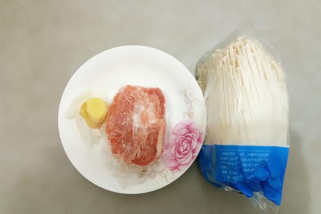 金针菇蒸肉片的做法大全