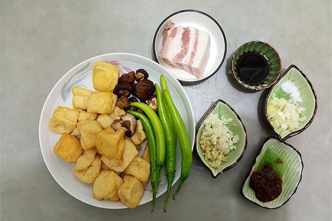 五花肉烧油豆腐的做法大全