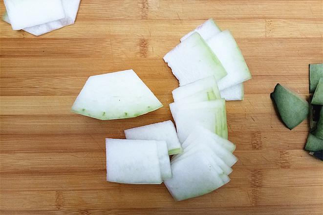冬瓜蒸牛肉饼的简单做法