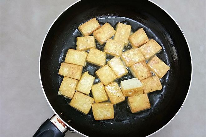 蟹味菇烧豆腐的家常做法