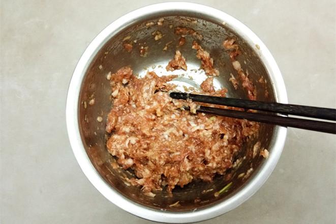 白萝卜酿肉的做法图解