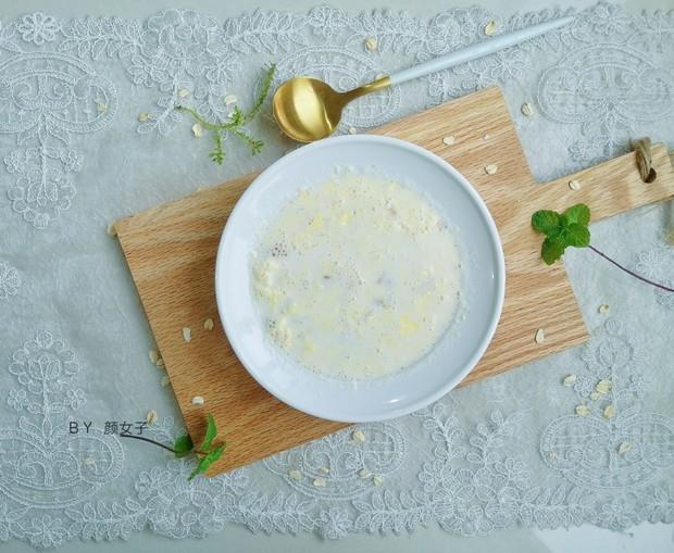 鸡蛋牛奶燕麦粥怎么做