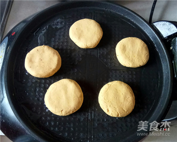 南瓜豆沙饼怎么煮