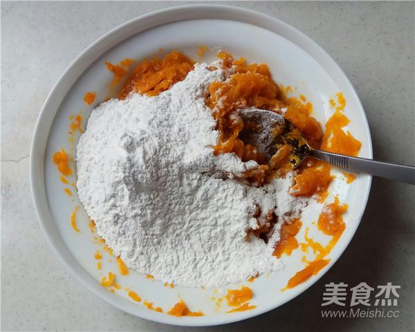 南瓜豆沙饼的简单做法