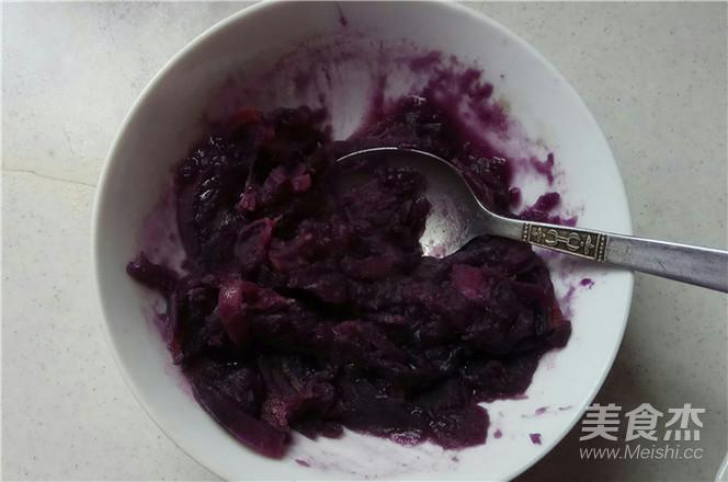 紫薯发糕的做法图解