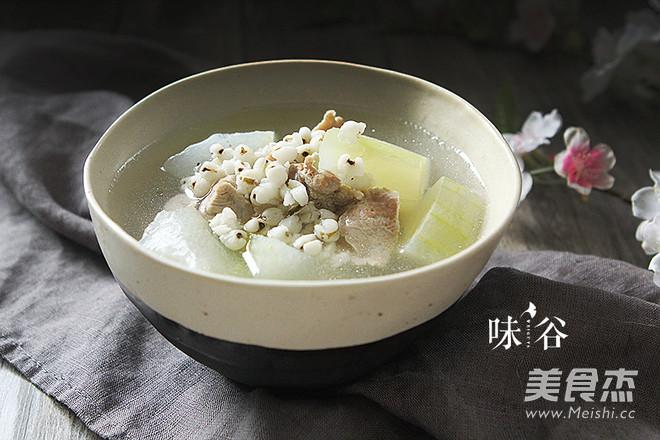 冬瓜薏米排骨汤怎么做