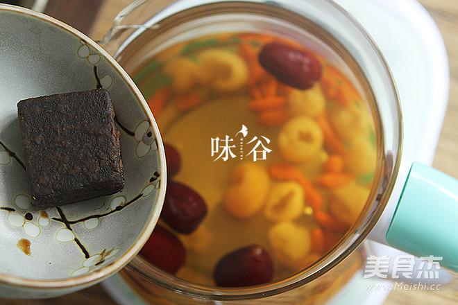 红枣桂圆枸杞红糖水怎么吃