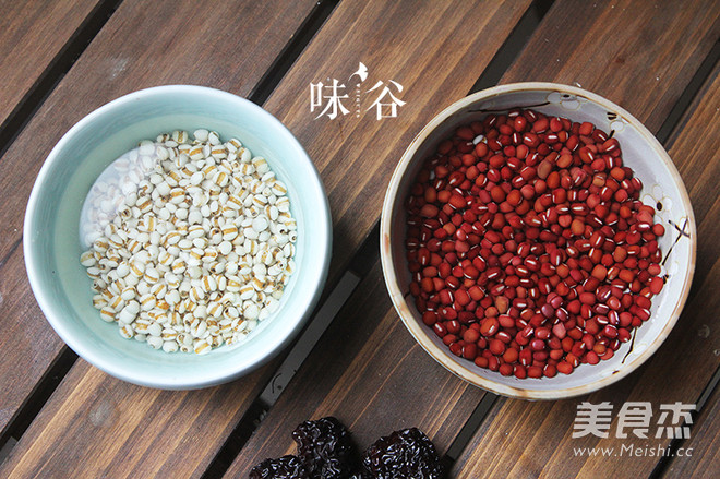红豆薏米甜汤的做法图解