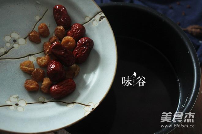 红枣桂圆黑米粥的家常做法