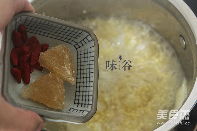 小米百合粥怎么吃