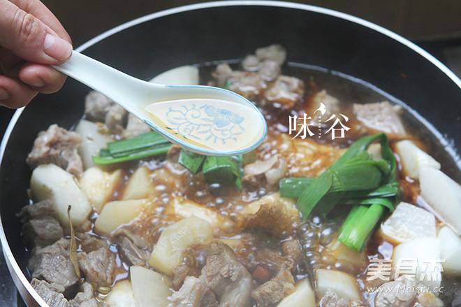 萝卜牛腩煲怎么炒