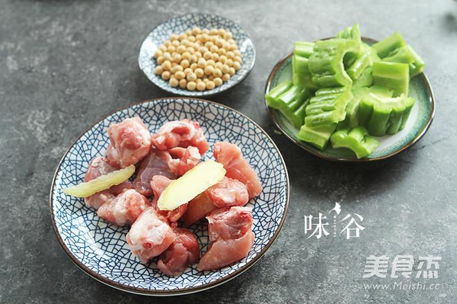 凉瓜黄豆排骨汤的做法大全